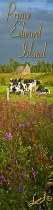 COWS;DAIRY;BARN;FIREWEEDS;FLOWERS;BOOKMARK;