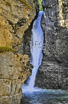CANADA;ALBERTA;BANFF_NATIONAL_PARK;JOHNSTON_CANYON;WATER;ROCKS;STREAMS;WATERFALL