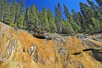 CANADA;ALBERTA;BANFF_NATIONAL_PARK;JOHNSTON_CANYON;ROCKS;LIMESTONE;HORIZONTAL