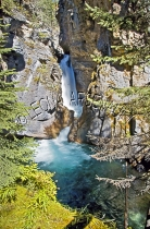 CANADA;ALBERTA;BANFF_NATIONAL_PARK;JOHNSTON_CANYON;ROCKS;WATER;WATERFALL;FLOW;FL