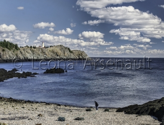 CANADA;NEW_BRUNSWICK;GRAND_MANAN;WATER;BEACH;HORIZONTAL;LIGHTHOUSE;CLIFF;ROCKS;