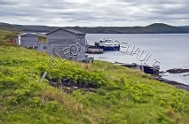 CANADA;NEWFOUNDLAND;ST_LUNAIRE_GRIQUET;WATER;COASTAL;SHED;SHACK;NAUTICAL;SUMMER;