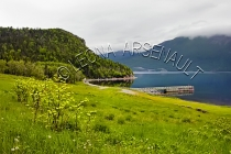 CANADA;NEWFOUNDLAND;GROS_MORNE_NATIONAL_PARK;NORRIS_POINT;WATER;FOG;CLOUDS;PIERS