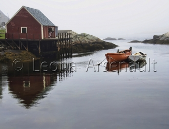 CANADA;NOVA_SCOTIA;PEGGYS_COVE;WATER;NAUTICAL;HORIZONTAL;BOATS;DORIES;WHARF;