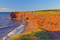 CANADA;PRINCE_EDWARD_ISLAND;_PRINCE_COUNTY;WEST_CAPE_WIND_FARM;CLIFFS;RED_SOIL;W